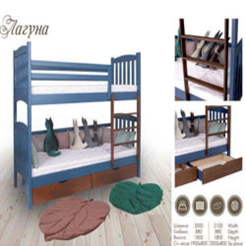 Кровати детские от фабрики МКС