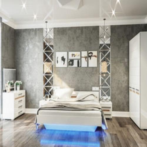 Спальня Бьянко фабрики Світ меблі