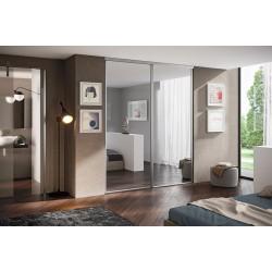 Гардеробная или шкаф-купе: выбор подходящих дверей для гардероба