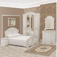 Луиза (патина) Кровать 160х200