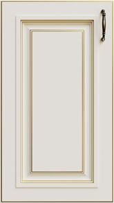 Слоновая кость + патина Золото