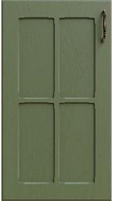 Темно-зеленый Д05 декор