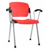 ERA plast arm chrome офисный стул Новый стиль