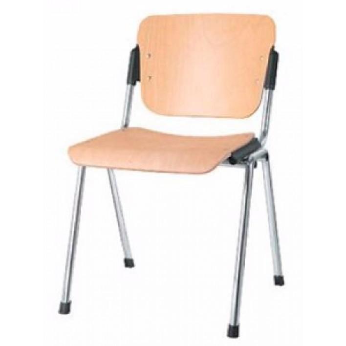 ERA wood chrome офисный стул Новый стиль