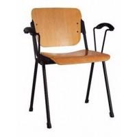 ERA arm wood black офисный стул Новый стиль