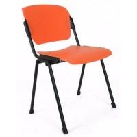 ERA plast black офисный стул Новый стиль