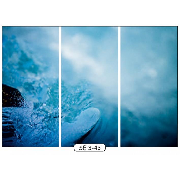 Фотопечать на 3 двери рис.SE-3-43 - Море - Феникс