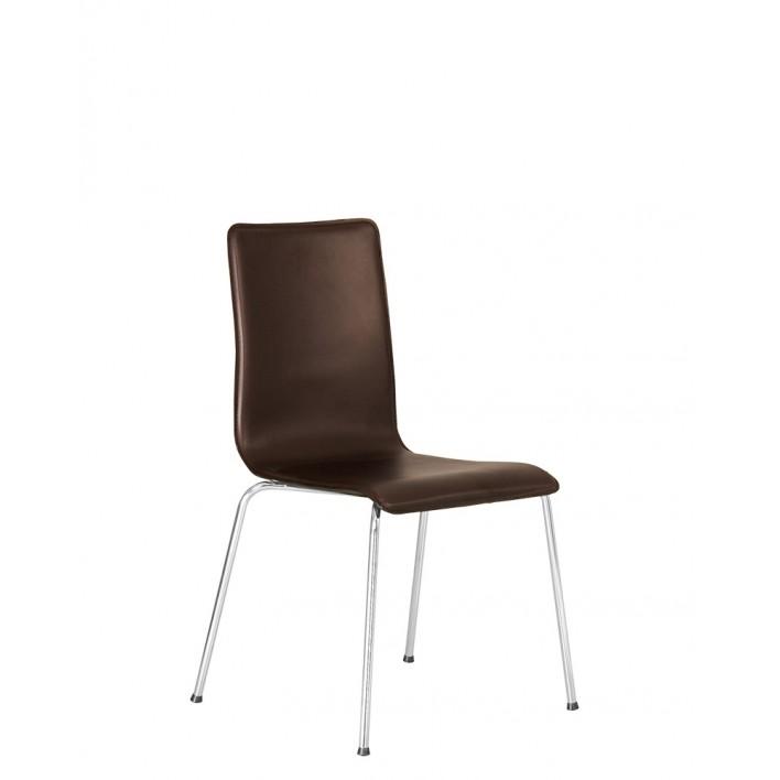 SOFI slim chrome (BOX-2)   Обеденный стул Новый стиль